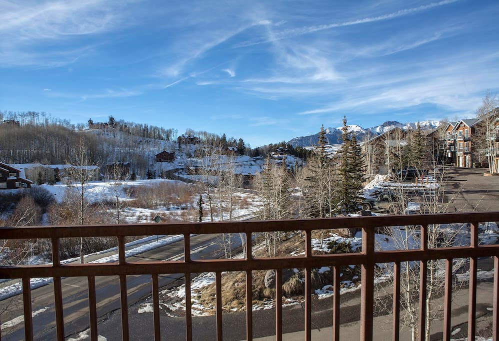 The view is for everyone, but they're that much better from your private deck.