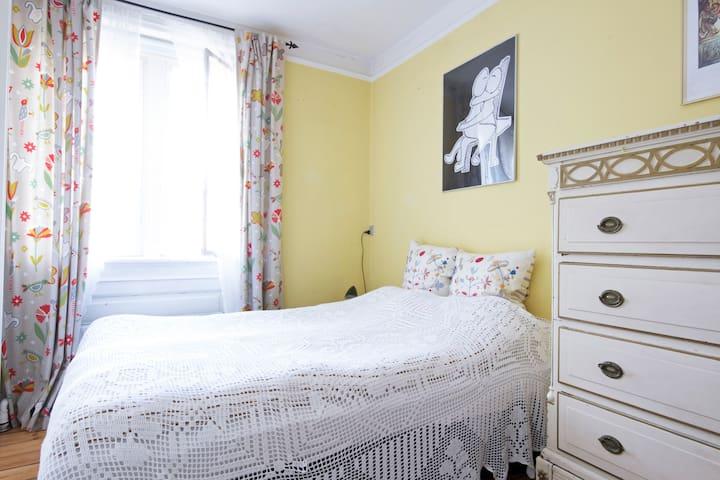 Master bedroom. Queen size bed
