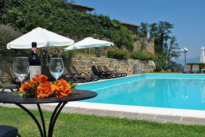 Villa il Castellaccio - Cast 4 - Greve In Chianti - Hus