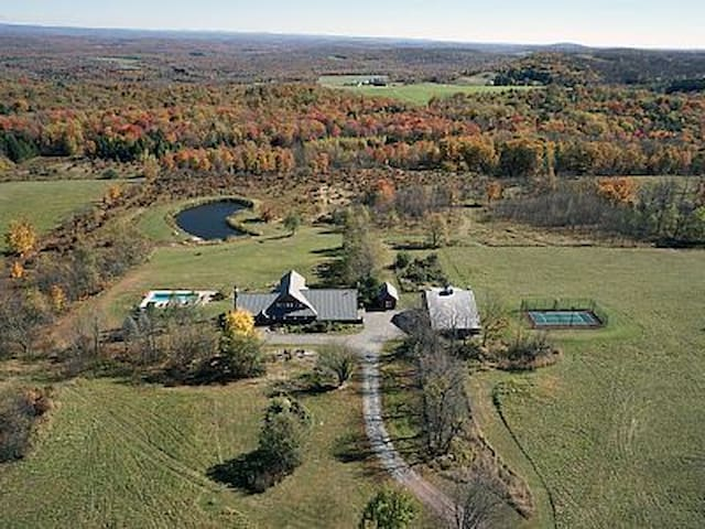 Magnificent 44+ Country Estate - Pleasant Mount - Casa