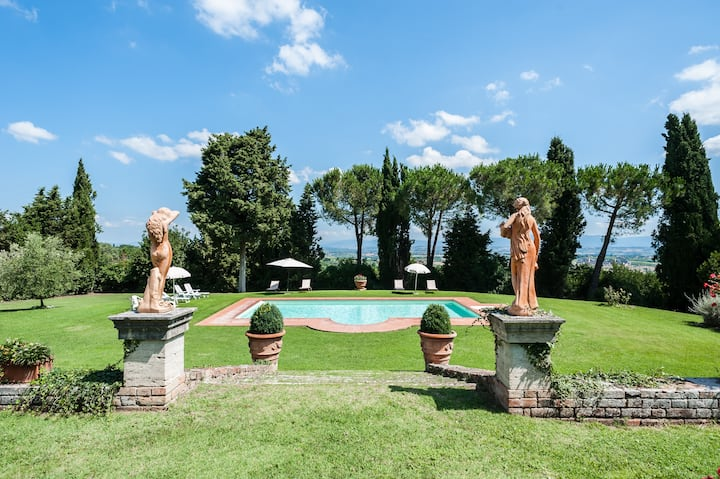 Wonderful villa in Montepulciano