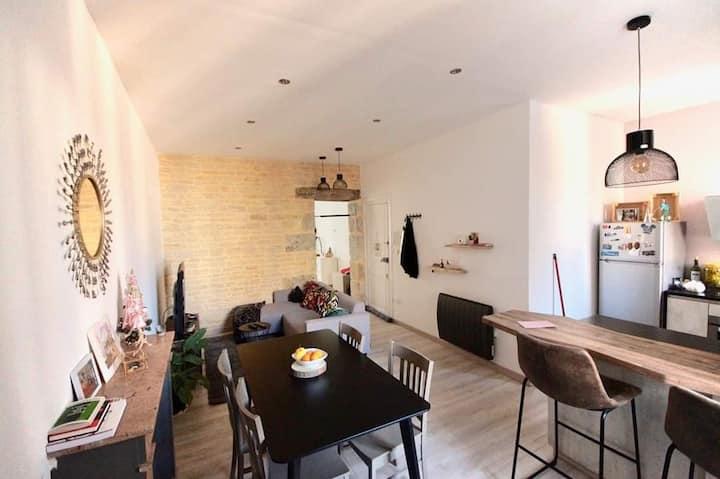 Superbe appartement de 42 m2 à côté de la gare