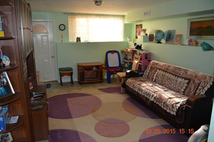 Studio apartment in private house in Staten Island - Staten Island - Apartment