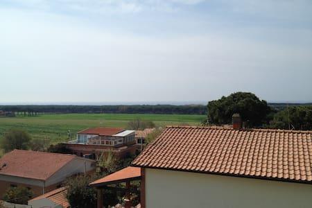 mansarda with panoramic sea view cool even summer - Anzio