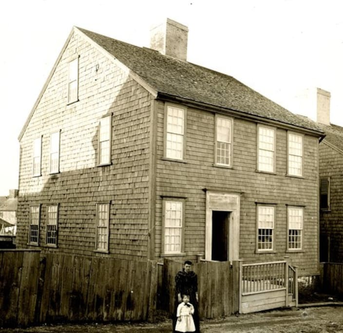 7 New Mill Street Historical Photo, Circa 1880
