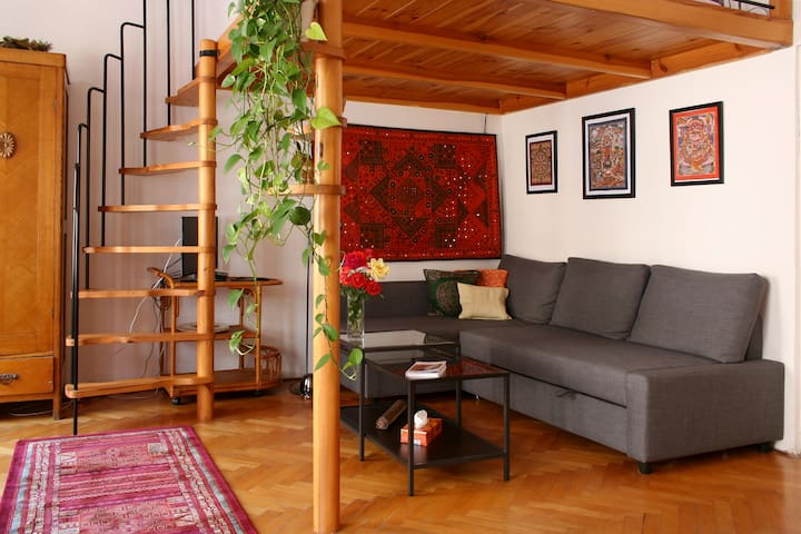 Old romance in the heart of Prague - Praag - Appartement