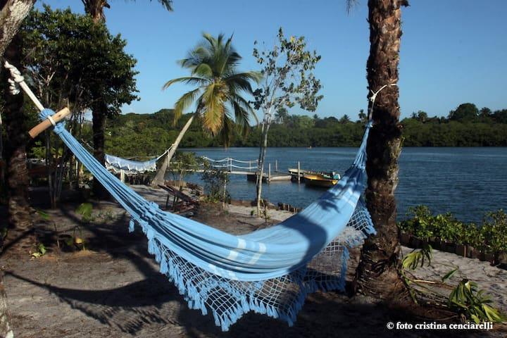 Casinha Amarela, Brazilian nature in Italian touch - Ilha de Boipeba - Bed & Breakfast