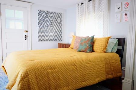 Cozy bedroom in a Modern Victorian - Minneapolis