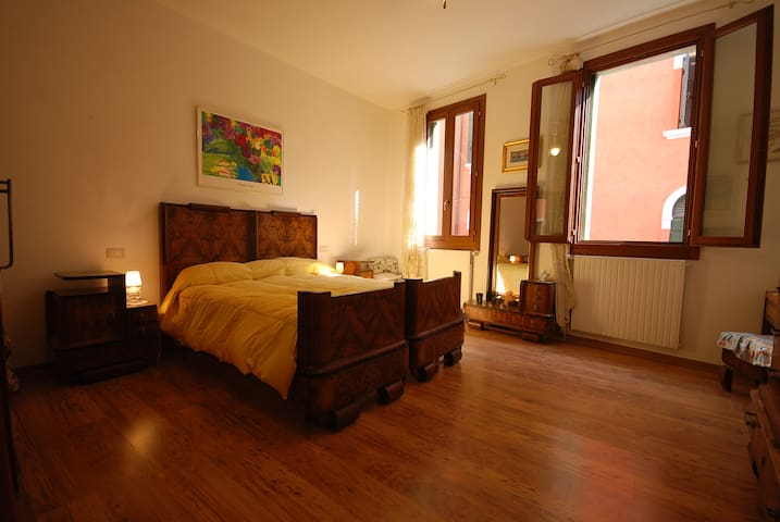 La Galea double room king bed (2 ad + on req 1 baby bed )