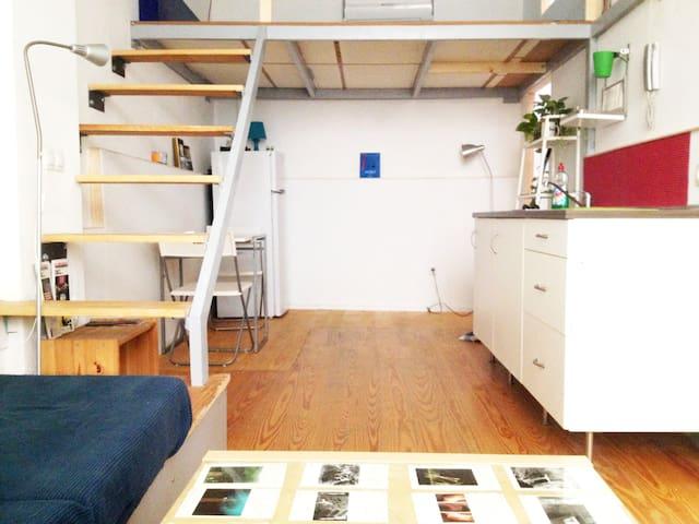 Fantastic loft cool neighborhood apartamentos en - Loft en sevilla ...