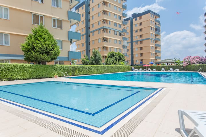 dağ manzaralı daire - Antalya - Apartment
