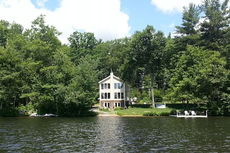 Big Private Lake House in the Woods - Westminster - Talo