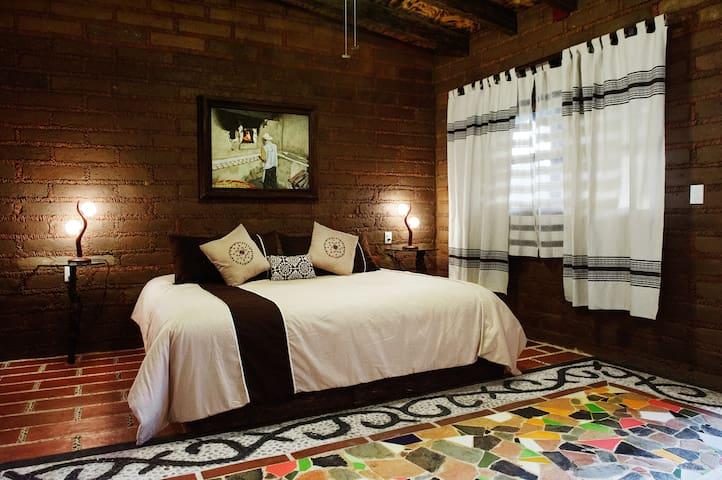 Agradable Suite con terraza interio - Malinalco - Bed & Breakfast