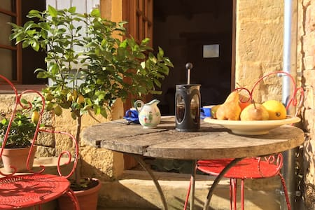 Luxury Apartment for Two in French Hilltop Village - Daglan