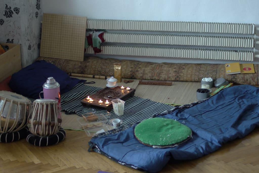 Место для общения и расслабления