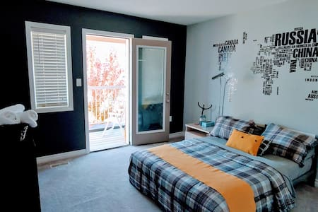 Terrace Large Bedroom in Detached Home
