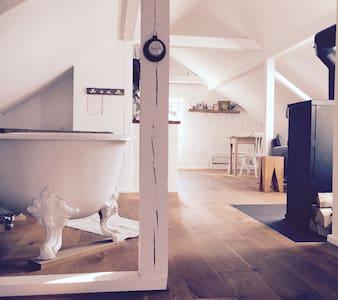 Exklusives,ländlich gelegenes Loft, 20 Min von FFM - Johannesberg - 公寓