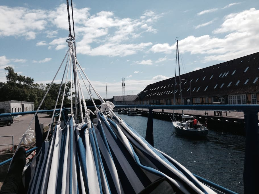 Houseboat in copenhagen hausboote zur miete in for Kopenhagen unterkunft