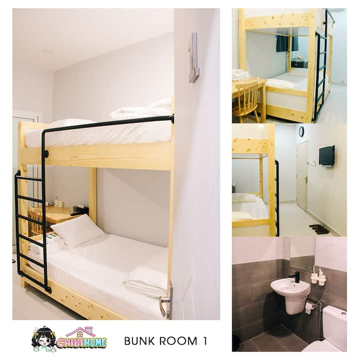 Private Bunk Room @ Ben Thanh Market [Chibi Home]