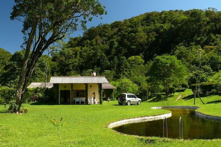 Encontro Forest Lodge Pristine Nature Gateway - Bananal - Casa