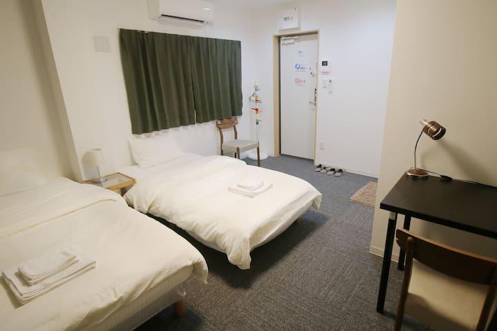 Uhome Shinokachimachi Apartment, 2mn to station