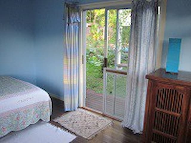The blue room  by sea breeze - Ocean Shores - Bed & Breakfast