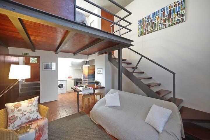 Apartamento moderno e equipado junto à Praia