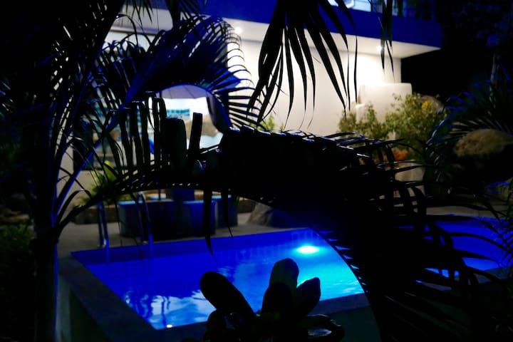 Beautiful tropical Sea View Pool Villa Paris + car