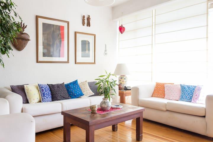 Bonito dormitorio en zona bien ubicada - Mexico City - Lejlighed