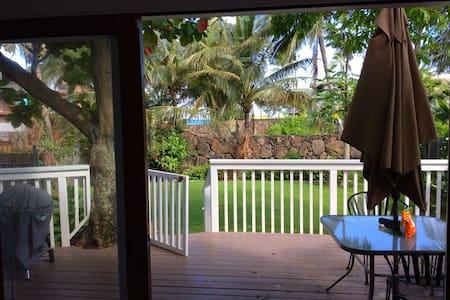 Sunset Beach house Ocean View Penthouse! - Haleiwa - House