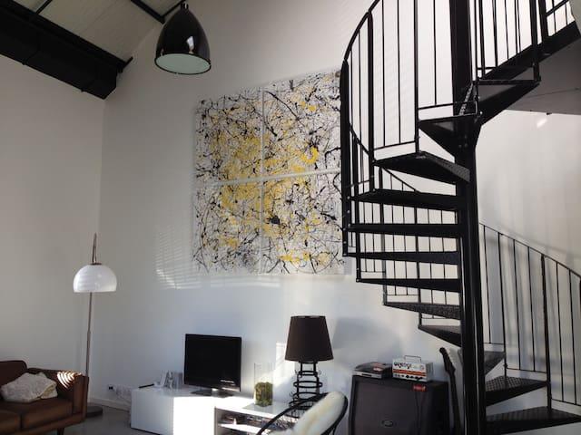 Chambre en mezzanine dans loft - Bègles - Loft