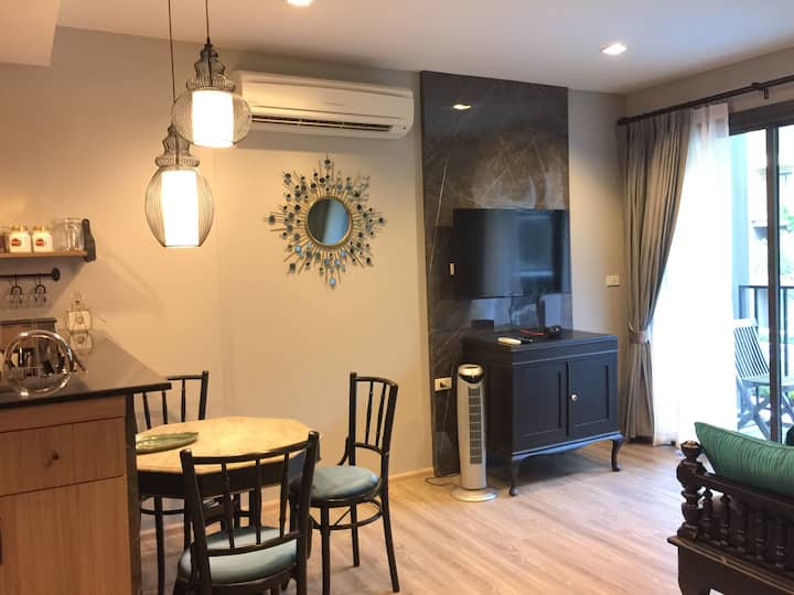 Rain Resort Condo, Cha-am Beach, Petchburi