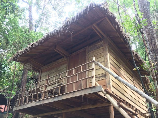 Sea View Tree House @ Jungle Bay Eco-Lodge