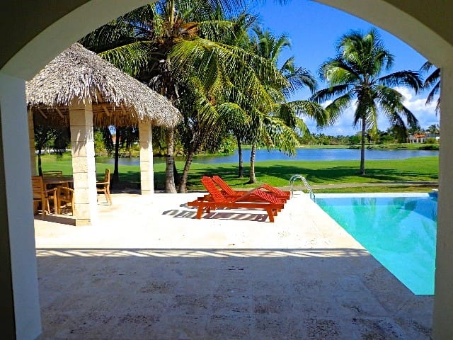 Wonderful 4 bed / 6 bath villa with private pool - Punta Cana - Casa