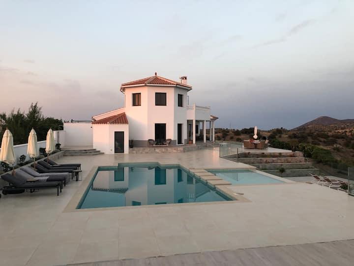 Modern Spanish Villa with Pool and Stunning Views