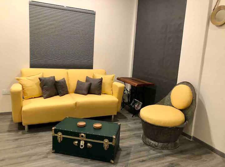 Elegante Loft a ( 5 minutos del Consulado )