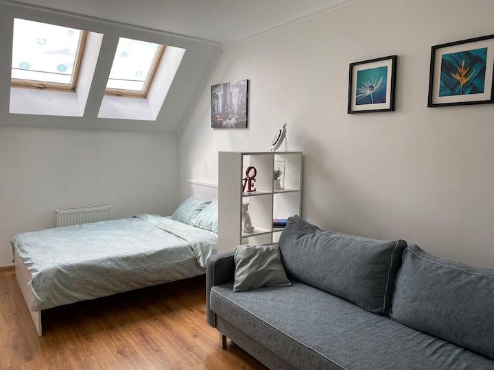 Apartment White Sky