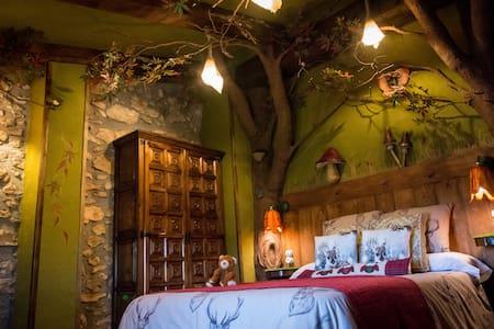 """Habitación """"Otoño mágico"""" - Albinyana - Bed & Breakfast"""