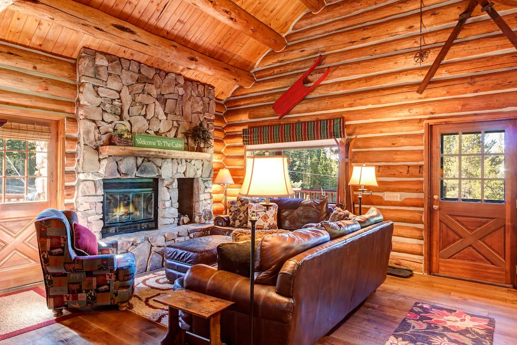 1348 Breckenridge Mountain View Cabin Houses For Rent