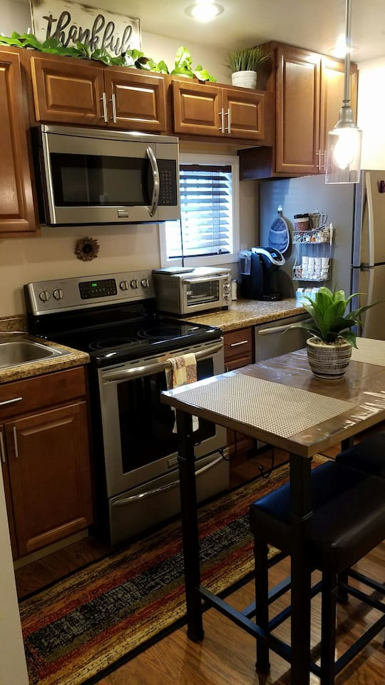 Full Kitchen for your cooking needs