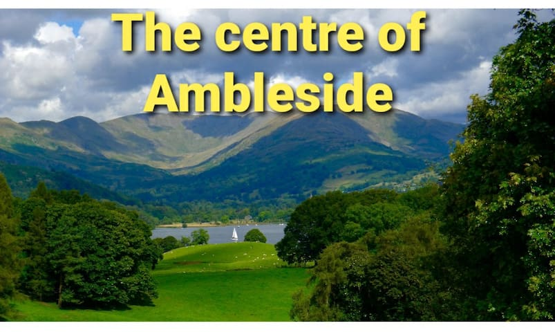 CENTRAL AMBLESIDE  GREAT LOCATION DOGS WELCOME💜