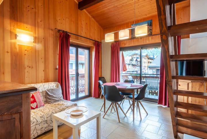 4 persons apartment in the village centre