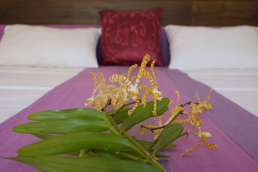 Unsere Kingsize-Betten sorgen für ein ausgezeichnetes Schlaferlebnis