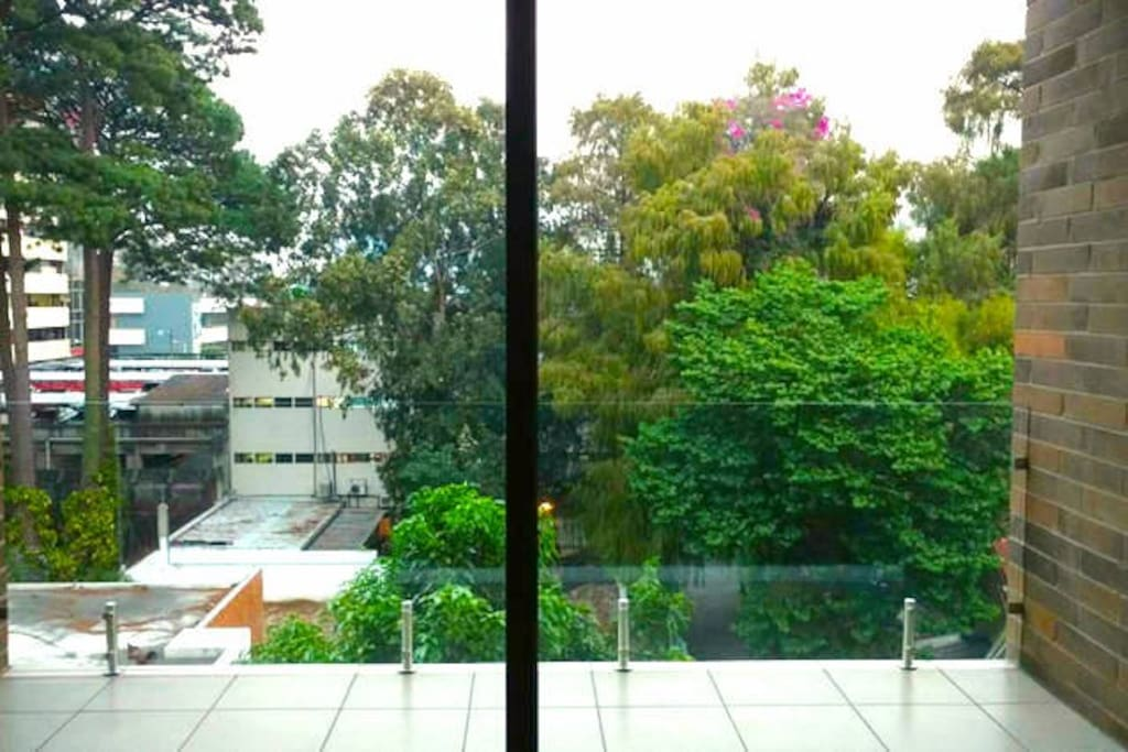 Vista desde la sala /View from the living room