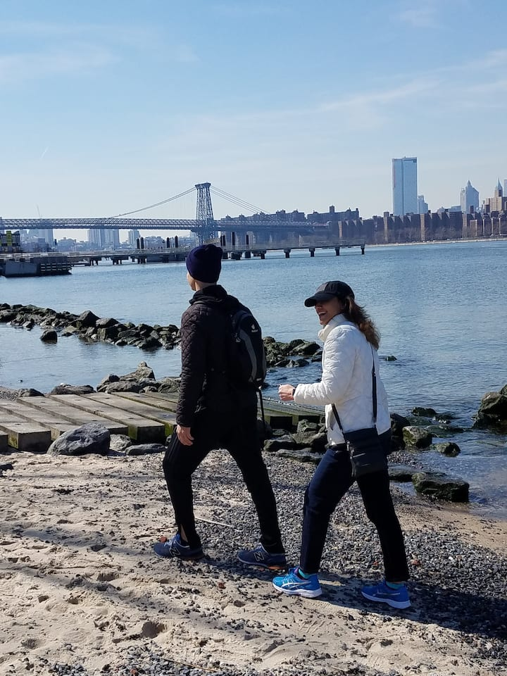 Hiking  on the Williamsburg Waterfront