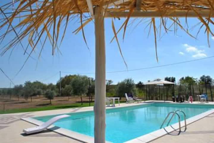 Vendicari Nature Reserve - Villas & swimming pool