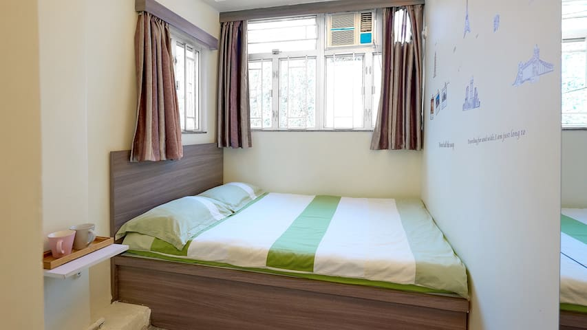 Double Bed for 2 person only ( R2 )