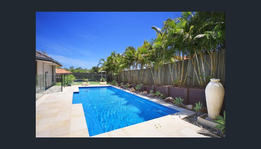 4 Bed house in Peregian with awesome pool!