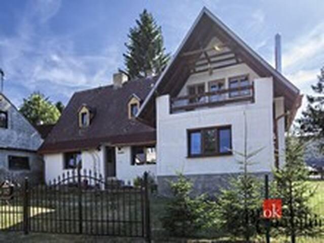 Rodinný dům k rekreačnímu v Krušných horách