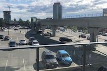 Borquitlam sky train station - 1 min walk from home